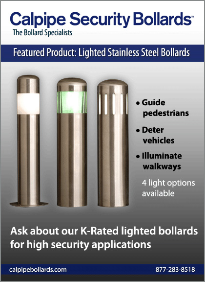 Calpipe Industries - Calpipe Security Bollards - Product