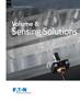 Volume 8: Sensing Solutions