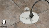 Arlington Industries 5.5 Inch Concrete Floor Box Kit FLBC5500
