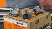 280-DCX EMT to AC/MC/FMC/NM Transition Fitting