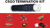 BURNDY CSGO Medium Voltage Cold Shrink Installation