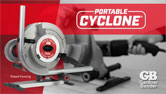 Portable Cyclone® Powered Rigid and EMT Conduit Bender
