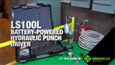 LS100L Battery-Powered Hydraulic Punch Driver