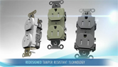 Hubbell Wiring Device-Kellems Tamper-Resistant Receptacle Mechanisms