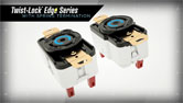 Twist-Lock® Edge Series with Screwless Termination
