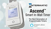 Ascend™ Smart In-Wall Timer (STW700W) by Intermatic