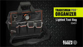 Tradesman Pro Lighted Tool Bag
