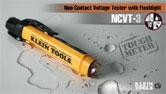 NCVT-3 Non-Contact Voltage Tester with Flashlight