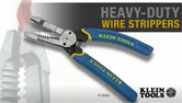 Klein Tools Heavy-Duty Wire Strippers