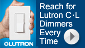 Lutron C.L Dimmer Benefits