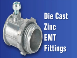 Bridgeport Zinc EMT Fittings