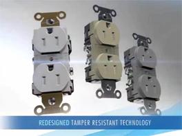 Hubbell Tamper Resistant Mechanism
