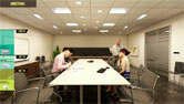 Lutron Video Conference and Recessed LED Fixture Solutions