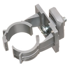 QuickLatch™ with installed strut clip SAVES TIME