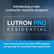 Lutron Pro Residential Contractor Program