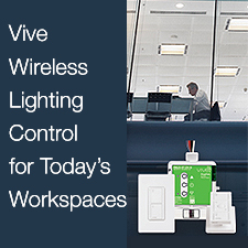 Wireless Lighting Control for the Workplace