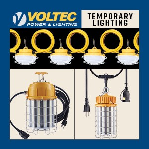 Temporary Light Strings and Area Lighting