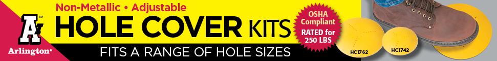 Non-Metallic Hole Cover Kits