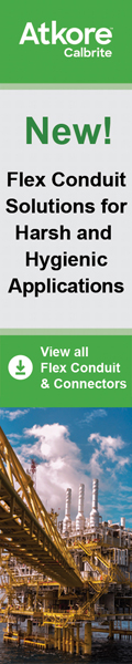 Providing One of the Industry's Largest Offerings of Flex Conduit, Fittings and Connectors  Rated up to IP69, Calbrite
