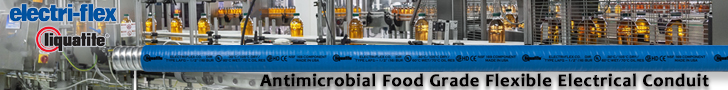 Antimicrobial Food Grade Flexible Electrical Conduit