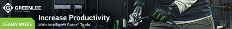 Greenlee® Revolutionizes Termination Tools With Next Generation Gator® Tools