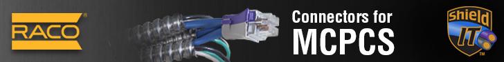 Make code-compliant MC-PCS splices with RACO's Shield-IT connectors!
