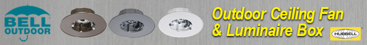 Bell Weatherproof Ceiling Fan & Luminaire Junction Box