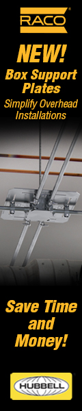 RACO Box Support Plates Simplify Overhead Installs