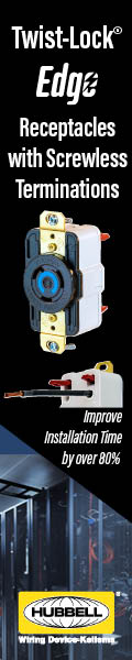 Hubbell Wiring Device-Kellems Unveils the Market's Fastest-Terminating Device