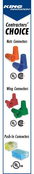 Every contractor's choice for wire connectors!