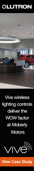 Lutron Vive Wireless Helps Deliver The Right Environment