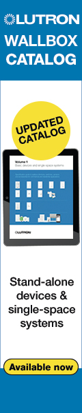 News from Lutron: Updated Wallbox Catalog is Now Available