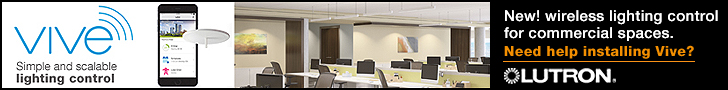 Lutron Vive Simple and Scalable Lighting Control
