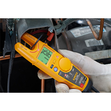Fluke's new T6-1000 Electrical Tester is designed to let commercial and light industrial electricians do basic troubleshooting, verifying voltage and continuity values and testing individual circuits to get current and voltage levels all without test leads or metal-to-metal contact.
