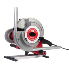 "Introducing the innovative new Gardner Bender Portable Cyclone® powered conduit bender for bending 1/2"" – 1"" EMT, Rigid, IMC, and 1/2"" – 3/4"" PVC-Coated Rigid conduit, all on a single shoe! The bender uses a standard pipe threader as a power source, making it versatile and quick to set up with a common jobsite tool. It is compatible with most pipe threaders on the market."