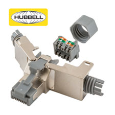 Hubbell Premise Wiring now offers new Category 6 and 6A field 