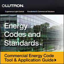 Lutron Simplifies Local and National Energy Code Compliance with New Tools, Products, and Webinar