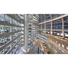 Smart LED Tech for the Office Building