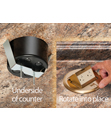 Countertop Box Kits...SECURE attachment, multiple receptacles