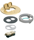 New Cover Kit with Leveling Ring for Concrete Floor Boxes