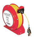 BURNDY adds 100 Foot Open Spool Reel  for Static Discharge Applications