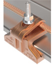 BURNDY® CONSTRICTOR™ Ground Connector to Steel
