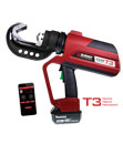 BURNDY® PATRIOT® PAT444ST3 Dieless C-Head Battery Crimper Series with T3 Technology
