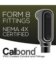 Calbond Form 8 Conduit Bodies Earn NEMA 4X Rating