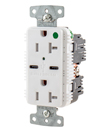 Hubbell Wiring Device-Kellems Offers Industry's First High Powered Hospital Grade USB Type-C Receptacle