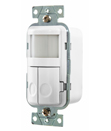 Dual-Circuit Wall Switch Sensor Controls Loads from Hubbell
