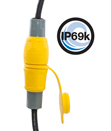 Hubbell Offers Industry's First Watertight Wiring Devices with IP69k Rating