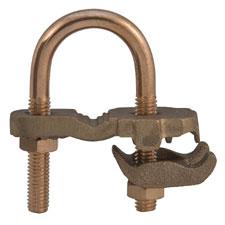 ILSCO's GPL3 Bronze Waterpipe Ground Clamps