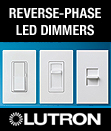 New! Reverse-Phase LED Dimmers: Diva, Skylark Contour, and Nova T