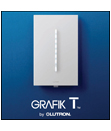 GRAFIK T dimmer by Lutron NOW SHIPPING!